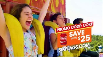 Six Flags TV Spot, 'Go Time: El Diablo and Splash Parade'
