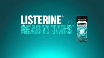 Listerine TV Spot, 'Half of Your Daily Routine: Ready! Tabs' - Thumbnail 9
