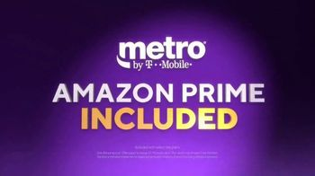 Metro by T-Mobile TV Spot, 'Just Got Better: Amazon Prime & Samsung Galaxy A20' Song by Usher - Thumbnail 4