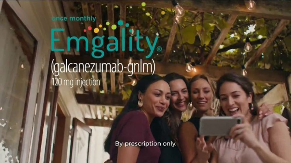 Emgality TV Commercial, 'Garden Party'
