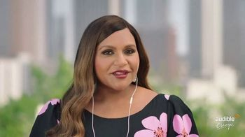 Audible Escape TV Spot, 'All the Love Stories You Love' Featuring Mindy Kaling - Thumbnail 1