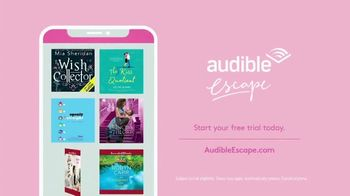 Audible Escape TV Spot, 'All the Love Stories You Love' Featuring Mindy Kaling - Thumbnail 7