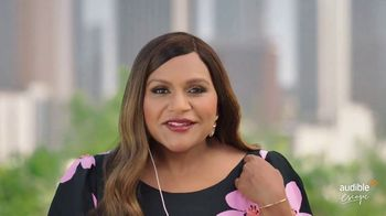 Audible Escape TV Spot, 'All the Love Stories You Love' Featuring Mindy Kaling