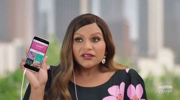 Audible Escape TV Spot, 'All the Love Stories You Love' Featuring Mindy Kaling - Thumbnail 4