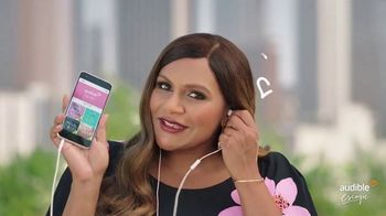Audible Escape TV Spot, 'All the Love Stories You Love' Featuring Mindy Kaling - Thumbnail 6