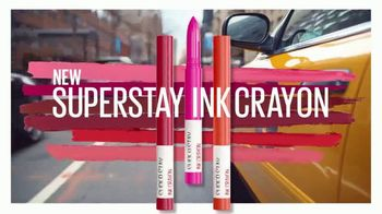 Maybelline New York SuperStay Ink Crayon TV Spot, 'All Day Intensity' - Thumbnail 9