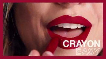 Maybelline New York SuperStay Ink Crayon TV Spot, 'All Day Intensity' - Thumbnail 2