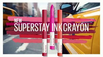 Maybelline New York SuperStay Ink Crayon TV Spot, 'All Day Intensity' - Thumbnail 4