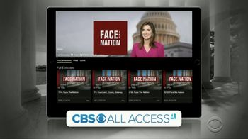CBS All Access TV Spot, 'Face the Nation' - Thumbnail 3