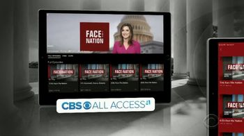 CBS All Access TV Spot, 'Face the Nation' - Thumbnail 5