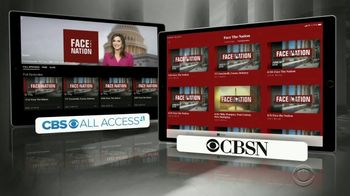 CBS All Access TV Spot, 'Face the Nation' - Thumbnail 6