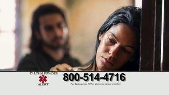 Talcum Powder Alert TV Spot, 'Ovarian Cancer Diagnosis'
