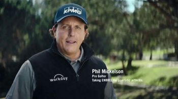 Enbrel TV Spot, 'Flash Forward' Featuring Phil Mickelson - 2605 commercial airings
