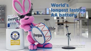 Energizer Ultimate Lithium TV Spot, \'Guinness World Records Announcement\'