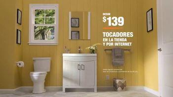 The Home Depot TV Spot, 'Baño nuevo: tocadores' [Spanish] - Thumbnail 10
