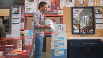 The Home Depot TV Spot, 'Baño nuevo: tocadores' [Spanish] - 666 commercial airings