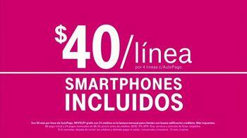 T-Mobile Unlimited TV Spot, 'Netflix por cuenta nuestra y smartphones gratis' [Spanish] - Thumbnail 10