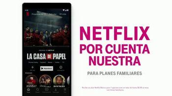 T-Mobile Unlimited TV Spot, 'Netflix por cuenta nuestra y smartphones gratis' [Spanish] - Thumbnail 5