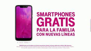 T-Mobile Unlimited TV Spot, 'Netflix por cuenta nuestra y smartphones gratis' [Spanish] - Thumbnail 8