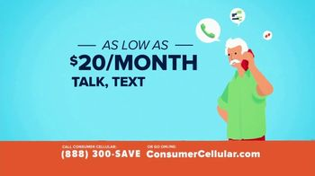 Consumer Cellular TV Spot, 'Better Value: Pizza: Grillin' Up $20 Credit: Plans $20+ a Month' - Thumbnail 4