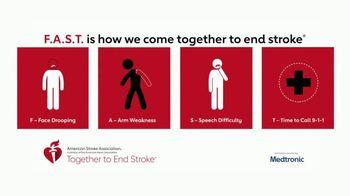 American Stroke Association TV Spot, 'Spot a Stroke Fast' - Thumbnail 4