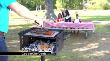 Copper Chef Spring Sales Event TV Spot, 'Outdoor Grilling' - Thumbnail 3