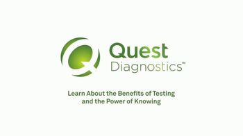 Quest Diagnostics TV Spot, 'Good Health Starts With Knowing' - Thumbnail 9