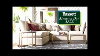 Bassett Memorial Day Sale TV Spot, 'The Weekend You've Been Waiting For'