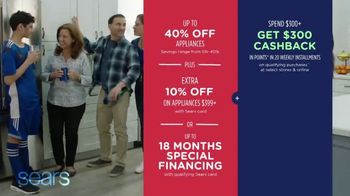 Sears Memorial Day Event TV Spot, 'Get Great Deals on Appliances' - Thumbnail 8