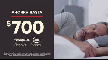 Mattress Firm Venta de Memorial Day TV Spot, 'King a precio Queen: base ajustable' [Spanish] - Thumbnail 4