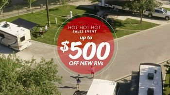 Camping World Hot Hot Hot Sales Event TV Spot, 'Get Your Party Started' - Thumbnail 7