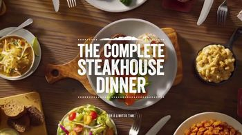 Outback Steakhouse Complete Steakhouse Dinner TV Spot, 'Your Choice: $7.99 Lunch'