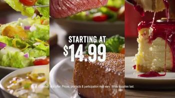 Outback Steakhouse Complete Steakhouse Dinner TV Spot, 'Your Choice: $7.99 Lunch' - Thumbnail 7