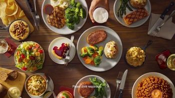Outback Steakhouse Complete Steakhouse Dinner TV Spot, 'Your Choice: $7.99 Lunch' - Thumbnail 9