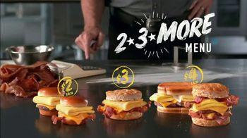Hardee's 2 3 More Menu TV Spot, 'Better Breakfast'