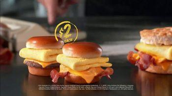 Hardee's 2 3 More Menu TV Spot, 'Better Breakfast' - Thumbnail 3