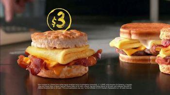 Hardee's 2 3 More Menu TV Spot, 'Better Breakfast' - Thumbnail 5