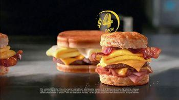 Hardee's 2 3 More Menu TV Spot, 'Better Breakfast' - Thumbnail 6