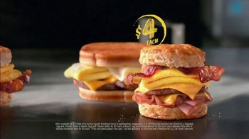 Hardee's 2 3 More Menu TV Spot, 'Better Breakfast' - Thumbnail 7