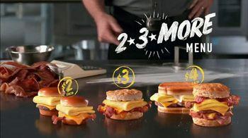 Hardee's 2 3 More Menu TV Spot, 'Better Breakfast' - Thumbnail 9