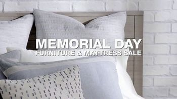 Macy's Memorial Day Furniture & Mattress Sale TV Spot, 'Sectional, Bed and Adjustable Base' - Thumbnail 1