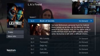 Spectrum On Demand TV Spot, 'Originals: L.A.'s Finest' - Thumbnail 6