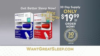 OneSecond Sleep Aid TV Spot, 'Want Great Sleep?' - Thumbnail 9