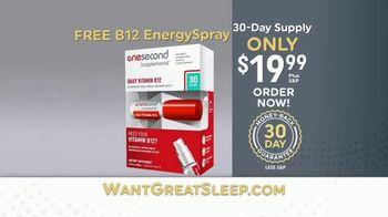 OneSecond Sleep Aid TV Spot, 'Want Great Sleep?' - Thumbnail 6