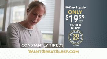 OneSecond Sleep Aid TV Spot, 'Want Great Sleep?' - Thumbnail 7