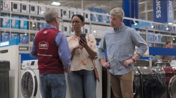 Lowe's Memorial Day Sale TV Spot, 'Whirlpool Laundry Pair' - Thumbnail 4