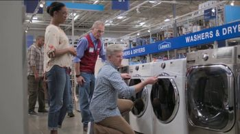 Lowe's Memorial Day Sale TV Spot, 'Whirlpool Laundry Pair' - Thumbnail 6