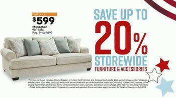 Ashley HomeStore Memorial Day Sale TV Spot, 'Ashley Advantage Additional Savings' Song by Midnight Riot - Thumbnail 4