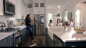 The Home Depot Memorial Day Savings TV Spot, 'Fuel Your Team: Samsung Laundry Pair'