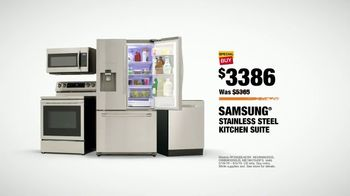 The Home Depot TV Spot, 'Fuel Your Team: Samsung Stainless Steel' - Thumbnail 9
